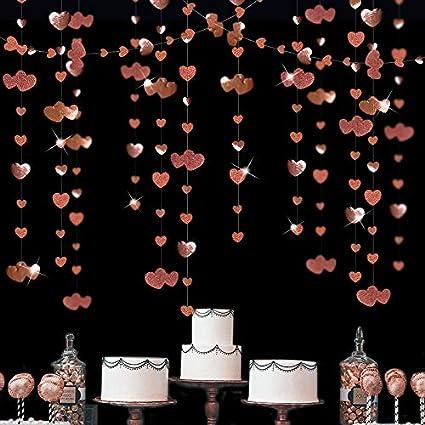 Garland: GoldSoft Metallics Party Garland Paper Garland Garland Backdrop Wedding Garland Birthday Garland Geometric Garland