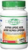 Organika Alpha Lipoic Acid Capsules, 120 Count