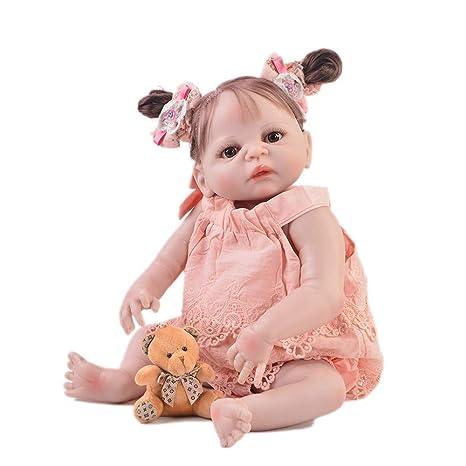 HWBB Reborn Baby Doll 57Cm / 23 Inch Cuerpo Entero Silicona ...