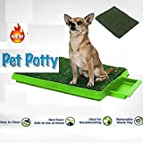 Sag Dog Grass Pee Potty Grass Patch Potty Puppy Potty Training Grass, Dog Potty Training Grass Pad, Anti-Slip Non-toxic for Indoor and Outdoor