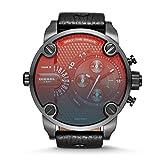 Diesel Men's DZ7334 Little Daddy Black Stainless Steel Watch