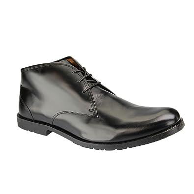 Manz , Chaussures de ville à lacets pour homme noir