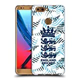 Official England and Wales Cricket Board Sweeping Claw 2018/19 Crest Patterns Soft Gel Case for ZTE Blade V9