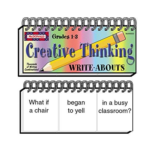 McDonald Publishing Grades 1-3 Creative Thinking Write-Abouts