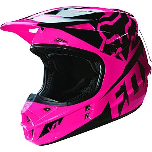Race Small Helmet (Fox Racing 2016 Race Men's V1 Motocross Motorcycle Helmet - Pink / Small)