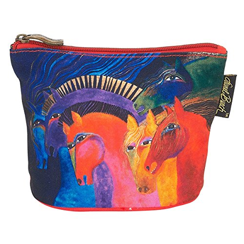 Laurel Burch Mythical Horses Cosmetic Clutch Pouch Wild Horse of - Horses Mythical Laurel Burch