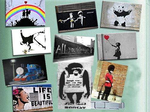 Compra Los 10 mejores imanes de nevera con diseños de Banksy, arte ...