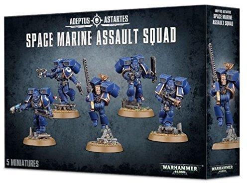 Space Marine Assault Squad Warhammer 40k by Warhammer