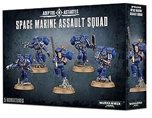 Games Workshop 99120101034 Warhammer 40.000 - Figuras de escuadra de asalto