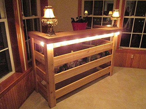 Patio Bar Western Red Cedar
