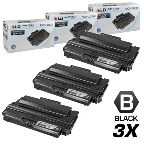 LD Compatible Toner Cartridge Replacement for Dell 330-2209 NX994 High Yield (Black, 3-Pack) -