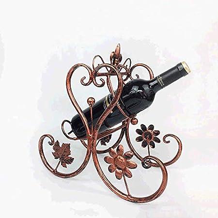 Tritow Nordic Creative Wine Holder Muebles de Sala Artesanía Vinoteca Decoraciones Decoraciones Adornos Simple Moda Wine Rack Bar Restaurante Hogar Mesa de Comedor Estante de Vino