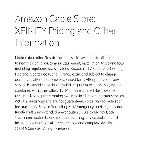 XFINITY Double Play Video / VoIP