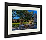 Ashley Framed Prints Full View Of The Historic Old West Spanish Mission Espada 1690 Texas, Wall Art Home Decoration, Color, 34x40 (frame size), AG6515920