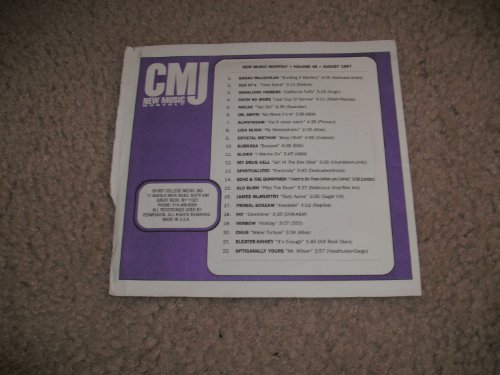 CMJ NEW MUSIC MONTHLY VOLUME 48 AUGUST - Yours Optiganally
