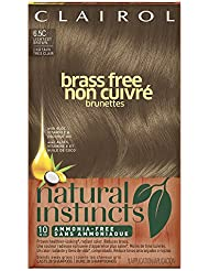 Clairol Natural Instincts Semi-Permanent Hair Color,...