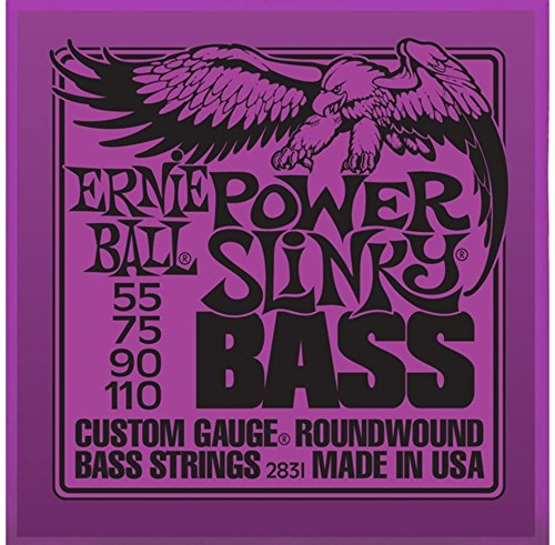 Ernie Ball 2831 Power Slinky Nickel Wound Electric Bass Strings (55-110)