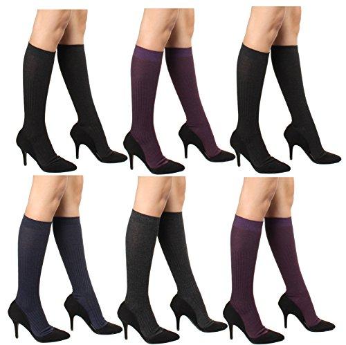 Ribbed Trouser Socks - 3