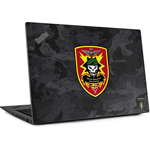 Ops Carbon (Skinit Special Ops Thinkpad X1 Carbon (6th Gen, 2018) Skin - Special Ops Airborne Logo Design - Ultra Thin, Lightweight Vinyl Decal Protection)