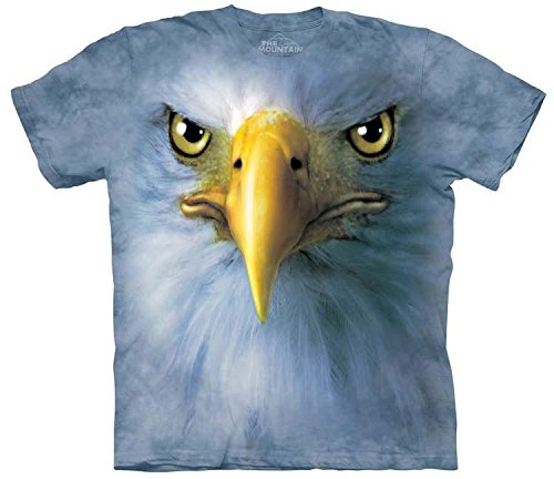 The Mountain Men's Eagle Face Adult Tee made in New England