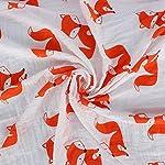 Baby-Swaddle-Blankets-Premium-Soft-100-Cotton-Muslin-Swaddle-Receiving-Blanket-for-Baby-Boys-or-Baby-Girls-47-x-47-Inch-Set-of-4-Unisex-DeerOwlDinosaurFox
