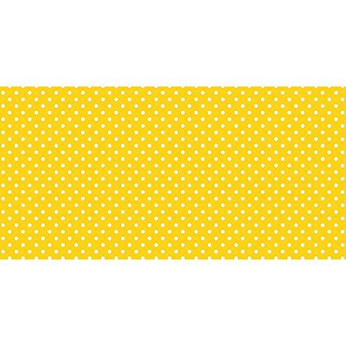 """Price comparison product image Pacon PAC57415 Fadeless Design Roll,  48"""" x 50',  Classic Dots Yellow"""
