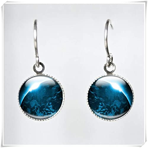 Utrolig Planet Glass Jewelry, Earth Planet Glasschmuck, Planet Glas JR-71