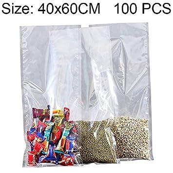 YKDY - Bolsa de plástico transparente para guardar alimentos ...