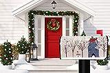 Wamika Merry Christmas Winter Snowman Tree
