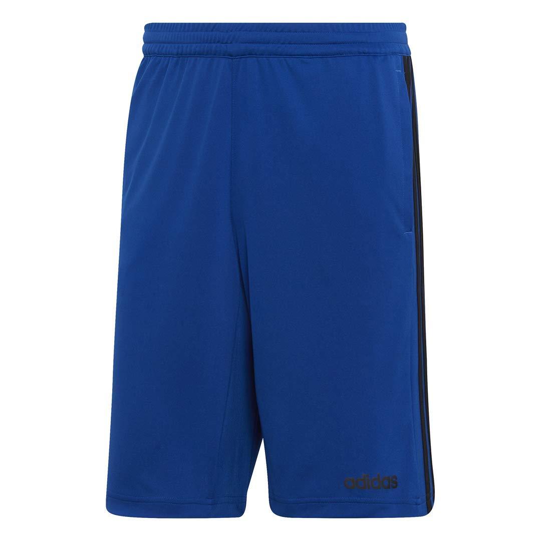 adidas Men's Design 2 Move Climacool 3-Stripes Training Shorts, Collegiate Royal/Black, XX-Large by adidas