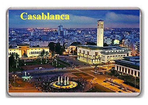 Morocco Casablanca/fridge Magnet.!!!!!!!