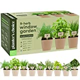 9 Herb Window Garden - Indoor Organic Herb