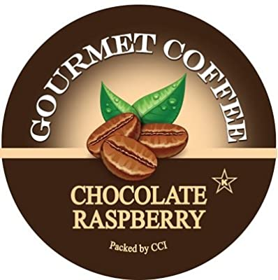 Smart Sips, Chocolate Raspberry Coffee, 24 Count, Single Serve Beverage Cups for Keurig K-Cup Brewers
