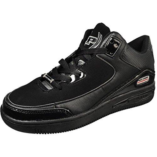 phat-farm-mens-clayson-athletic-sneakers-8-black-mono-chrome