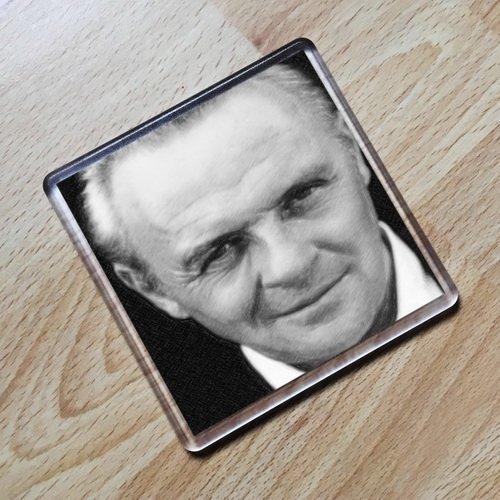 Seasons Anthony Hopkins – Original Art Coaster #js003