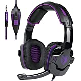 SADES SA-930 3.5mm Gaming Headsets with Microphone Noise Cancellation Music Headphones for PS4
