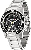 Sector Men's Quartz Watch with Black Dial Analogue Display and Black PU Strap R3251577002