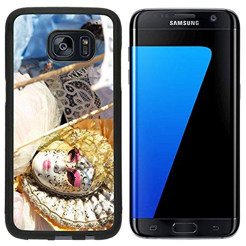 Carnevale Originale Costume (Luxlady Premium Samsung Galaxy S7 Edge Aluminum Backplate Bumper Snap Case IMAGE ID: 27531354 carnival)