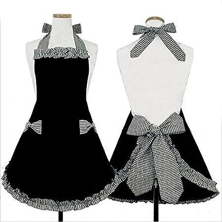 Cute vintage Coquine pour femme avec nœud Noir Patron ...