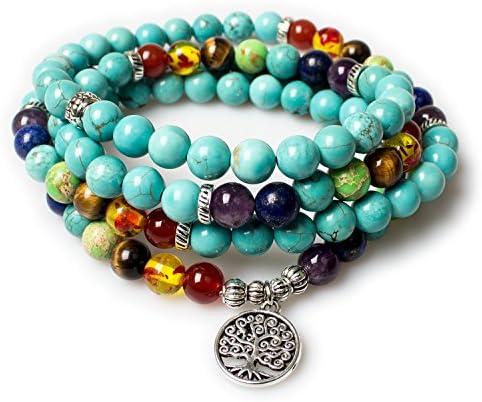 Jewelry Turquoise Healing Bracelet Necklace product image