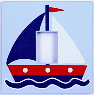 Sailing Boat Nautical Light Switch Cover Part 93