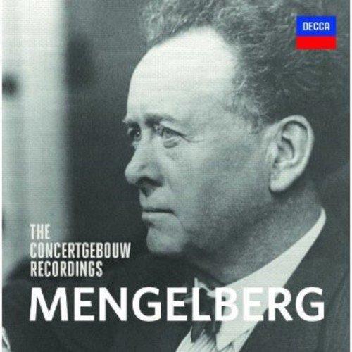 CD : Willem Mengelberg - Concertgebouw Recordings (Holland - Import, 15PC)