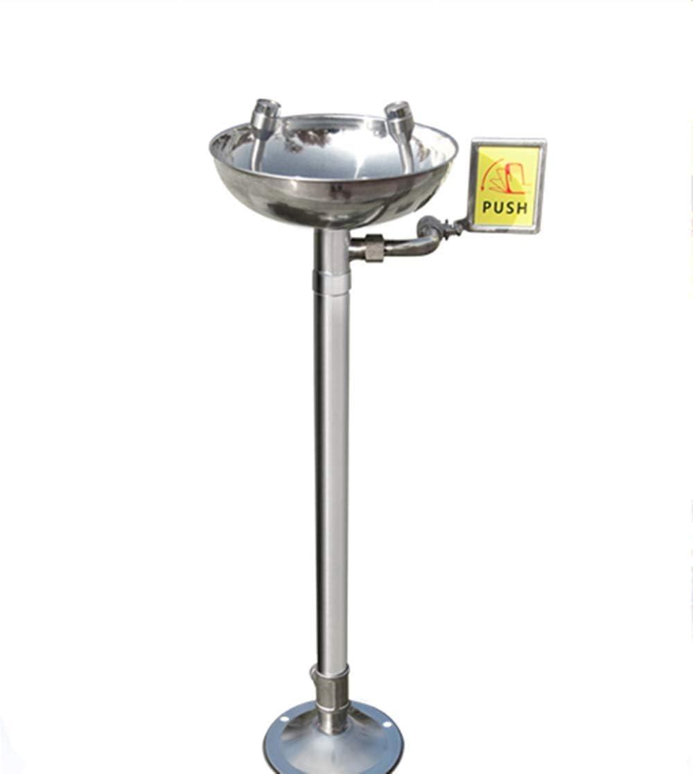 WEI-LUONG Alcachofa Acero Inoxidable 304 Lavaojos Lavaojos de Emergencia de pulverización Vertical Dispositivo de Ducha for Laboratorio Industrial Ducha
