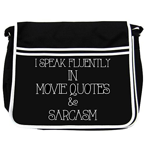 Parlo fluente in Movie Quotes And Sarcasm Borsa