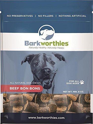 Image of Barkworthies Beef Bon Bons Treat, 8-Ounce