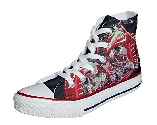 Converse Customized Adulte - chaussures coutume (produit artisanal) moto