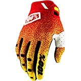 100% Ridefit 2018 MX Offroad Gloves Red/Yellow LG