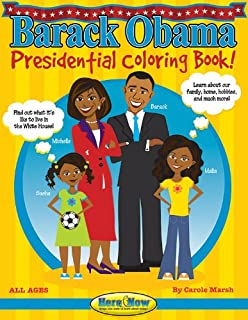 Barack Obama Coloring Book Gary Zaboly 0800759473205 Amazoncom