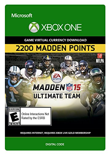 Madden NFL 15: 2,200 Points - Xbox One Digital Code by Electronic Arts