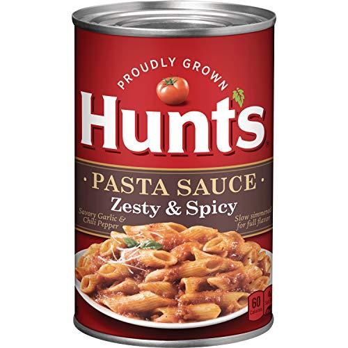 Hunt's Zesty & Spicy Pasta Sauce, 24 oz